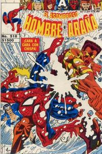Cover Thumbnail for El Asombroso Hombre Araña (Novedades, 1980 series) #518