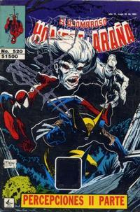 Cover Thumbnail for El Asombroso Hombre Araña (Novedades, 1980 series) #520