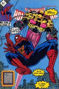 Cover Thumbnail for El Asombroso Hombre Araña (Novedades, 1980 series) #535