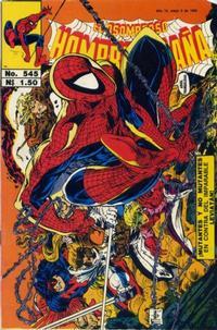 Cover Thumbnail for El Asombroso Hombre Araña (Novedades, 1980 series) #545