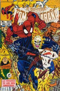Cover Thumbnail for El Asombroso Hombre Araña (Novedades, 1980 series) #552