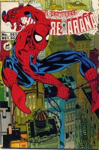 Cover Thumbnail for El Asombroso Hombre Araña (Novedades, 1980 series) #557