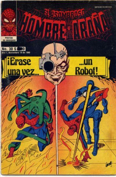 Cover for El Asombroso Hombre Araña (Novedades, 1980 series) #30