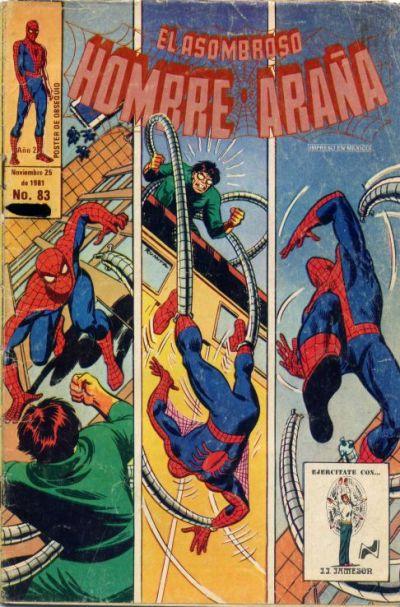 Cover for El Asombroso Hombre Araña (Novedades, 1980 series) #83