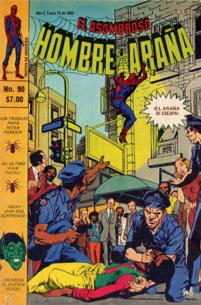 Cover for El Asombroso Hombre Araña (Novedades, 1980 series) #90