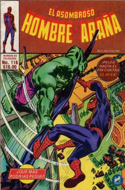 Cover for El Asombroso Hombre Araña (Novedades, 1980 series) #116