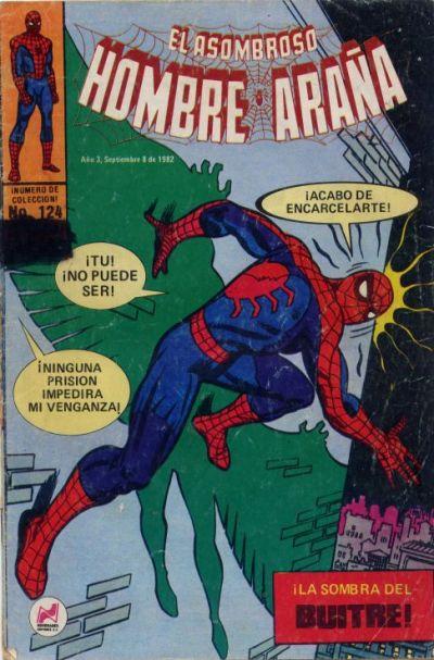 Cover for El Asombroso Hombre Araña (Novedades, 1980 series) #124