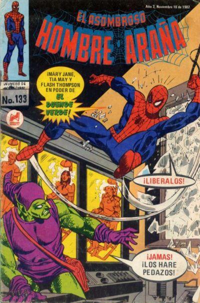 Cover for El Asombroso Hombre Araña (Novedades, 1980 series) #133