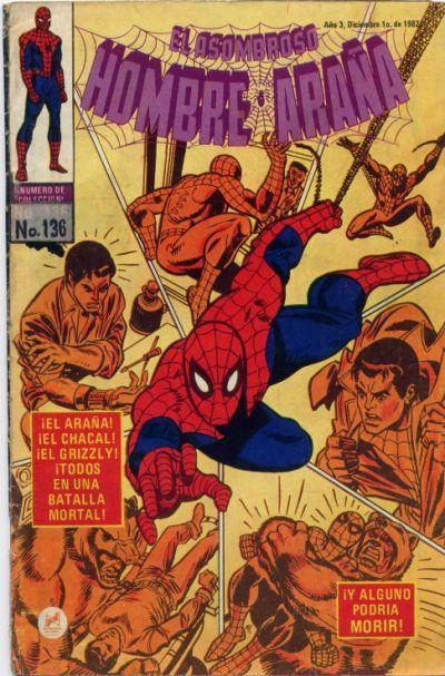 Cover for El Asombroso Hombre Araña (Novedades, 1980 series) #136