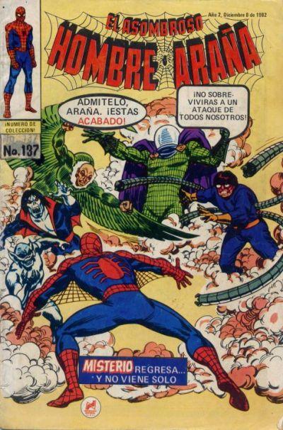 Cover for El Asombroso Hombre Araña (Novedades, 1980 series) #137