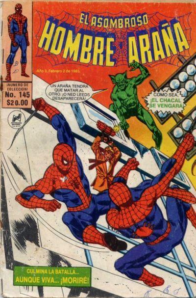 Cover for El Asombroso Hombre Araña (Novedades, 1980 series) #145
