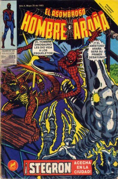 Cover for El Asombroso Hombre Araña (Novedades, 1980 series) #161
