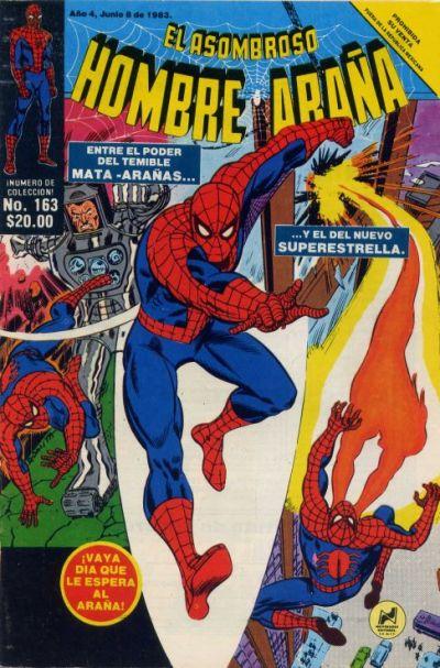 Cover for El Asombroso Hombre Araña (Novedades, 1980 series) #163