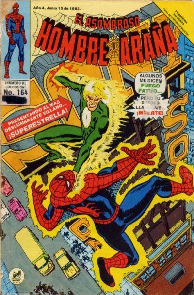 Cover for El Asombroso Hombre Araña (Novedades, 1980 series) #164