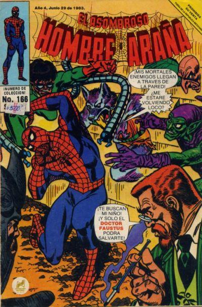 Cover for El Asombroso Hombre Araña (Novedades, 1980 series) #166