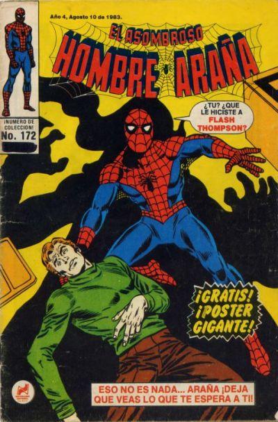 Cover for El Asombroso Hombre Araña (Novedades, 1980 series) #172