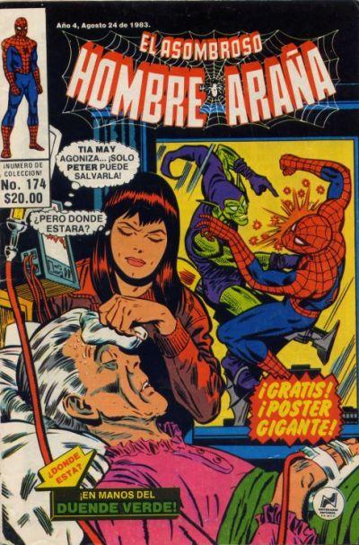 Cover for El Asombroso Hombre Araña (Novedades, 1980 series) #174