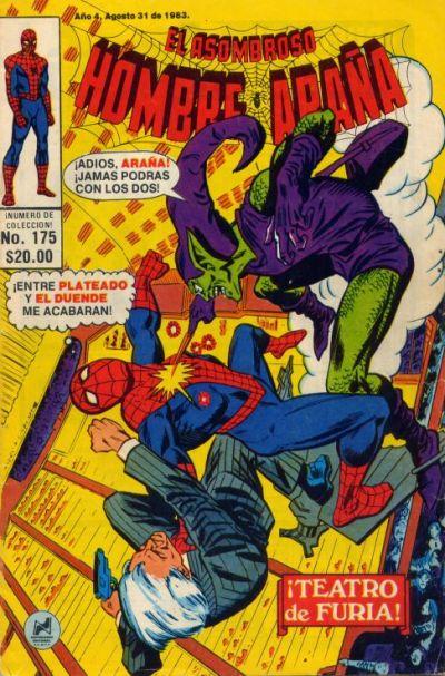 Cover for El Asombroso Hombre Araña (Novedades, 1980 series) #175