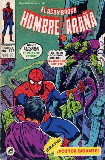 Cover for El Asombroso Hombre Araña (Novedades, 1980 series) #176