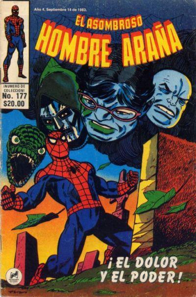 Cover for El Asombroso Hombre Araña (Novedades, 1980 series) #177
