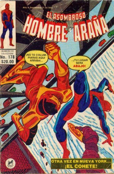 Cover for El Asombroso Hombre Araña (Novedades, 1980 series) #178