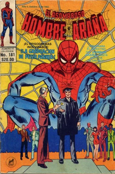 Cover for El Asombroso Hombre Araña (Novedades, 1980 series) #181