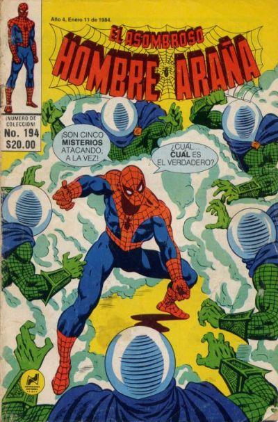 Cover for El Asombroso Hombre Araña (Novedades, 1980 series) #194