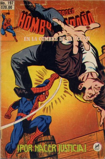 Cover for El Asombroso Hombre Araña (Novedades, 1980 series) #197