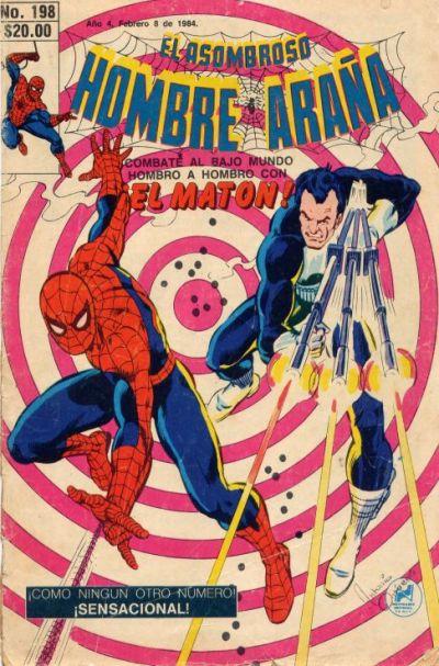 Cover for El Asombroso Hombre Araña (Novedades, 1980 series) #198