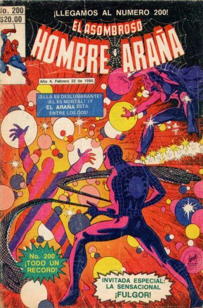 Cover for El Asombroso Hombre Araña (Novedades, 1980 series) #200