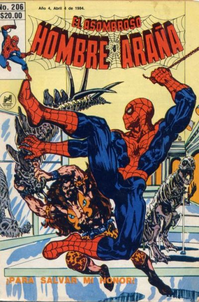 Cover for El Asombroso Hombre Araña (Novedades, 1980 series) #206