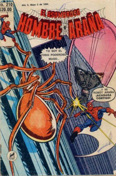 Cover for El Asombroso Hombre Araña (Novedades, 1980 series) #210