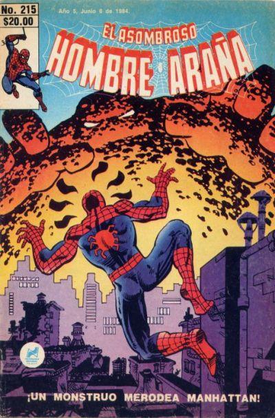 Cover for El Asombroso Hombre Araña (Novedades, 1980 series) #215