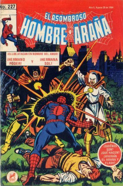 Cover for El Asombroso Hombre Araña (Novedades, 1980 series) #227