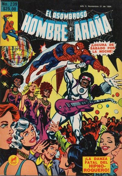 Cover for El Asombroso Hombre Araña (Novedades, 1980 series) #239