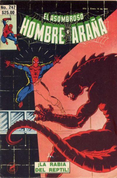 Cover for El Asombroso Hombre Araña (Novedades, 1980 series) #247