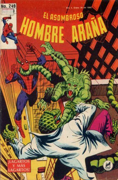 Cover for El Asombroso Hombre Araña (Novedades, 1980 series) #249
