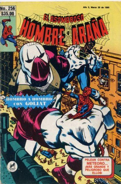 Cover for El Asombroso Hombre Araña (Novedades, 1980 series) #256