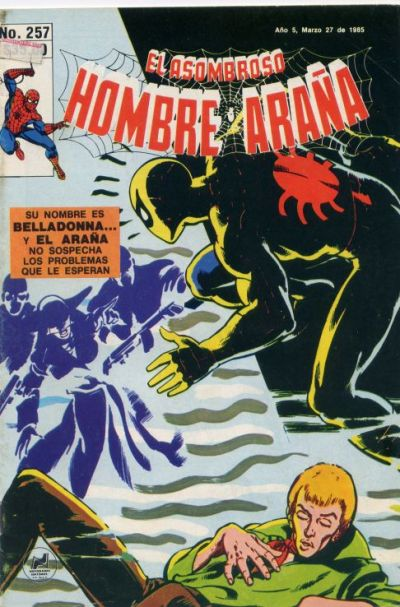 Cover for El Asombroso Hombre Araña (Novedades, 1980 series) #257
