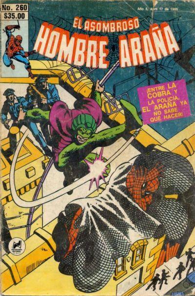 Cover for El Asombroso Hombre Araña (Novedades, 1980 series) #260