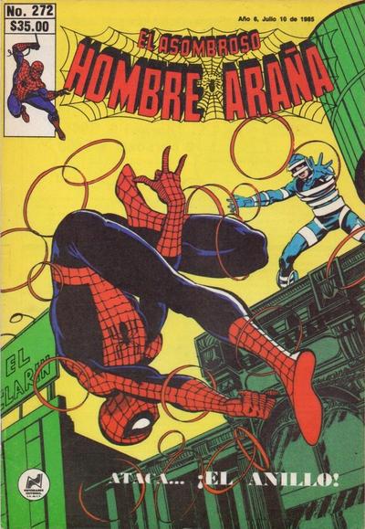 Cover for El Asombroso Hombre Araña (Novedades, 1980 series) #272