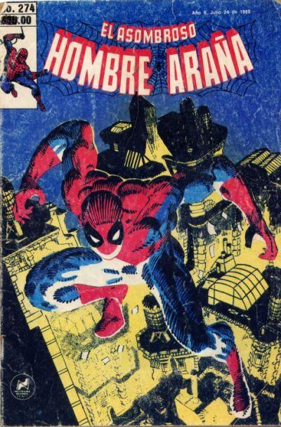 Cover for El Asombroso Hombre Araña (Novedades, 1980 series) #274