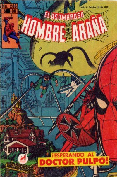 Cover for El Asombroso Hombre Araña (Novedades, 1980 series) #286