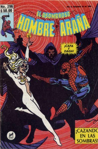 Cover for El Asombroso Hombre Araña (Novedades, 1980 series) #296