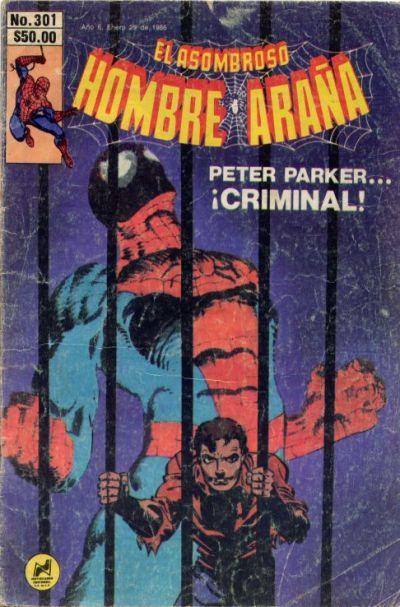 Cover for El Asombroso Hombre Araña (Novedades, 1980 series) #301
