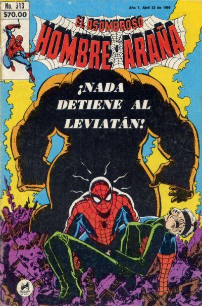 Cover for El Asombroso Hombre Araña (Novedades, 1980 series) #313