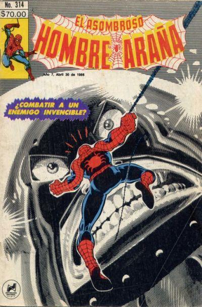 Cover for El Asombroso Hombre Araña (Novedades, 1980 series) #314