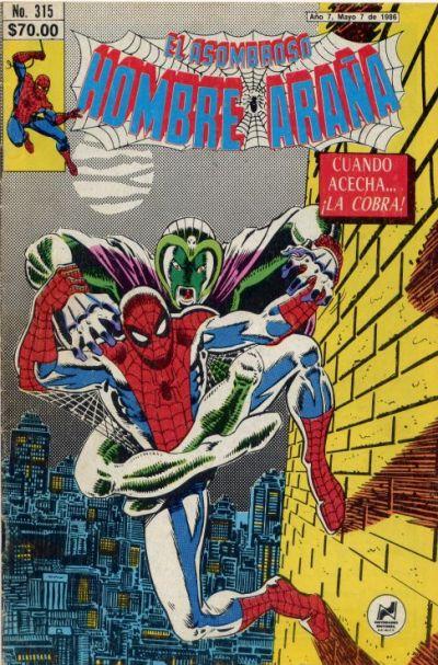 Cover for El Asombroso Hombre Araña (Novedades, 1980 series) #315