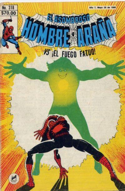 Cover for El Asombroso Hombre Araña (Novedades, 1980 series) #318