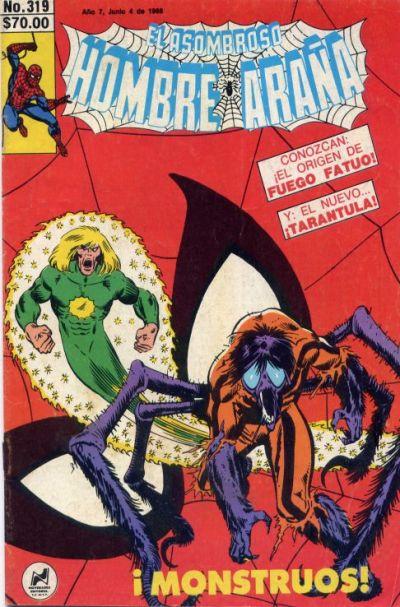 Cover for El Asombroso Hombre Araña (Novedades, 1980 series) #319